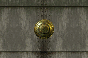 Locked Door with Audio Example