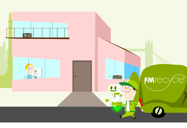 FM Recycle uses Hippo Animator