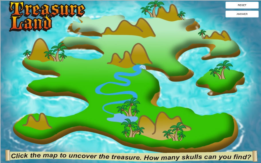 Interactive Treasure Map