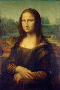 Blur Transitions MonaLisa