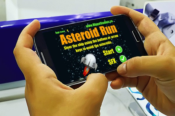 Creating Phone Apps AsteroidPhone