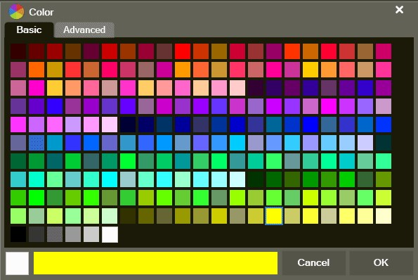 Getting Started ColorPicker