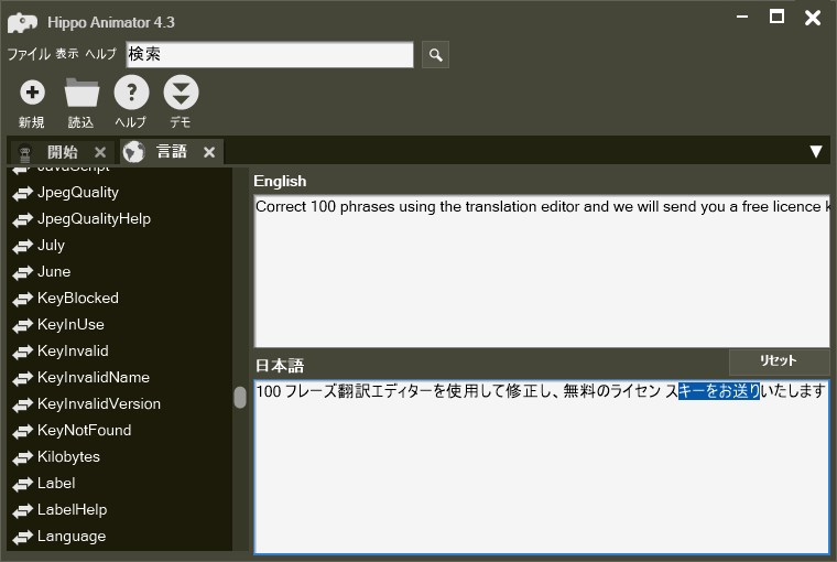Translation Editor LanguageEditor